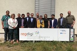 """Vorschaufoto zu dem Artikel: Workshop in Merseburg zum Thema """"Einsatz branchenübergreifender solidarischer digitaler Identitäten""""."""