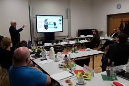 Präsentation vor dem Beirat Digitale Agenda Neuss