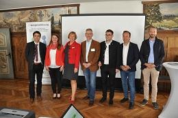 Von den Inhalten der Veranstaltung waren neben dem Bürgermeister von Argenbühl, Herrn Sauter, auch Frau Lachenmaier und Herr Riesch vom Landratsamt und Herr Haser (MdL), überzeugt.