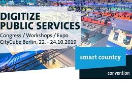Vorschaufoto zu dem Artikel: Erleben Sie die Online-Ausweisfunktion bei Smart Country Convention in Berlin