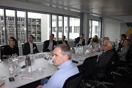 Expertenrunde im Workshop. FOTO: buergerservice.org