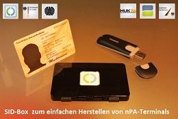 Vorschaufoto zu dem Artikel: Fördermitgliedschaft inkl. SID-Box zum einfachen Herstellen von nPA-Terminals in Behörden u. Unternehmen