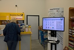 Vorschaufoto zu dem Artikel: Bürgerterminal zur Nutzung aller Dienste mit Online-Ausweisfunktion im Einkaufszentrum
