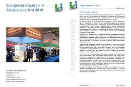 Vorschaufoto zu dem Artikel: buergerservice.org e.V. stellt Tätigkeitsbericht 2019 zur Mitgliederversammlung am 19. März 2020 vor