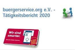 Vorschaufoto zu dem Artikel: buergerservice.org e.V. stellt Tätigkeitsbericht 2020 zur Mitgliederversammlung am 16. März 2021 vor