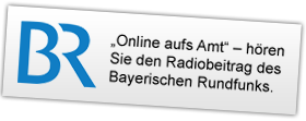 """""""Online aufs Amt"""" – hören Sie den Radiobeitrag des Bayerischen Rundfunks."""